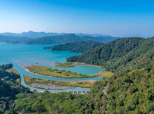 中国著名景区:台湾日月潭