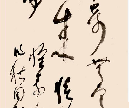 林散之《许瑶诗论怀素草书》书法欣赏