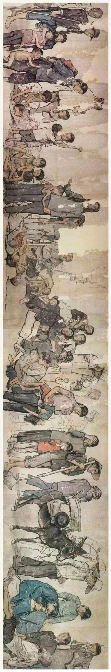 """蒋兆和中国水墨人物画的艺术特色——""""一支秃笔""""与""""一碗苦茶"""""""
