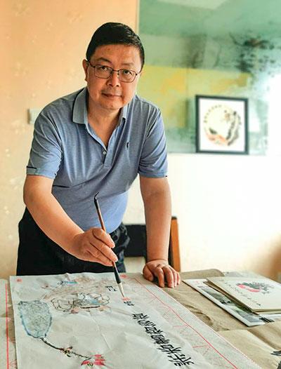 白剑波|司徒慧明和他的国画小品