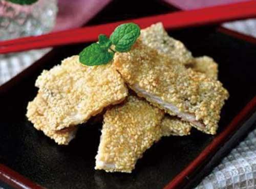 清真傳統菜|芝麻魚片