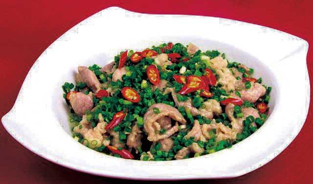 流行菜肴|蔥藏肥羊