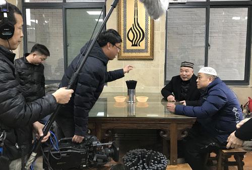 全方位介紹回坊文化的電視片《回坊》,在西安回坊拍攝中