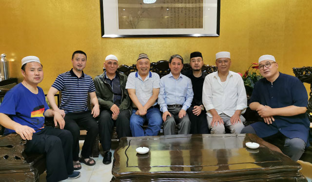 廣州大學馬占明教授赴西安做學術考察