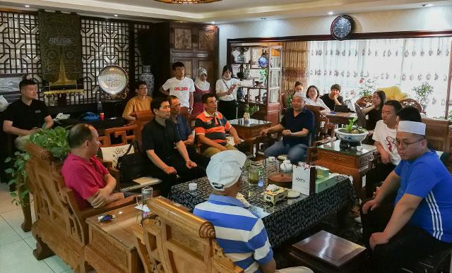 2019年全國高端清真餐飲論壇吹風會在西安紫薇風尚召開