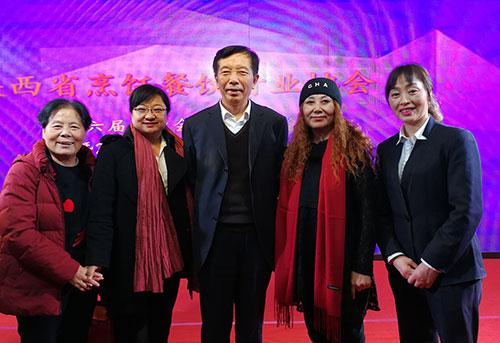 中國烹飪協會姜俊賢會長關心陜西清真餐飲