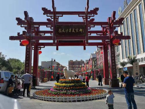 """武威民勤县""""苏武沙羊美食街""""点亮""""夜间经济"""""""