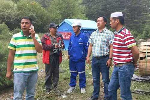 松潘穆斯林餐饮企业家参与九寨沟地震灾区救援