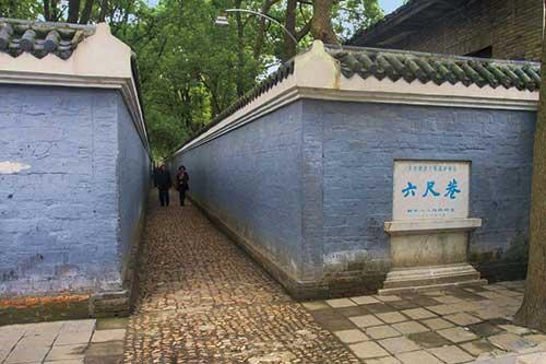 老街古巷|安徽桐城六尺巷
