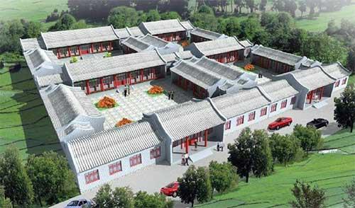 北京四合院史话及建筑特色
