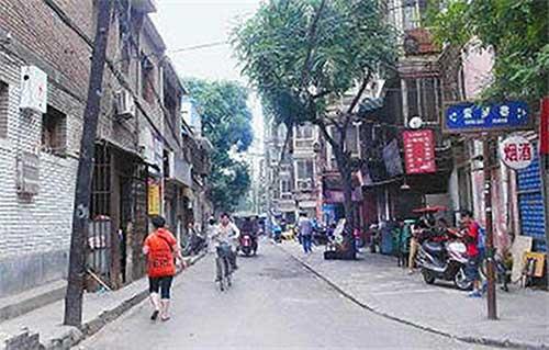 朱文杰|西安的老街安居巷